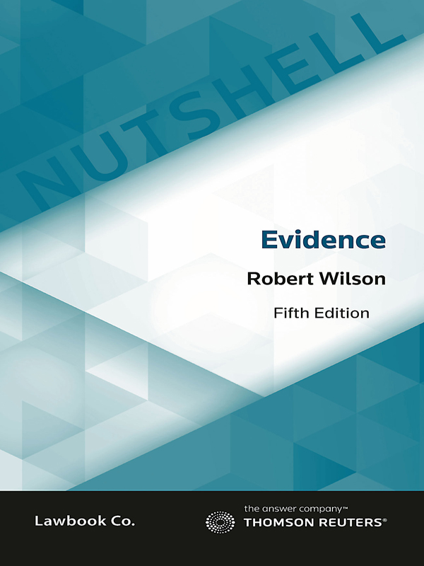 Student law books thomson reuters australia nutshell evidence law 5ed fandeluxe Gallery
