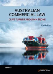 Australian Commercial Law 32e ebook – Thomson Reuters Australia