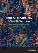 Concise Australian Commercial Law 5th ed ebk
