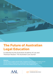 The Future of Australian Legal Education ebook