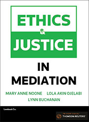 Ethics and Justice in Mediation - Book & eBook