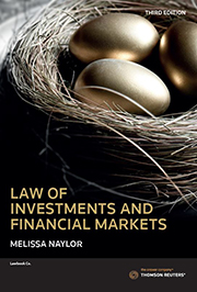 Law of Investments and Financial Markets 3rd ed