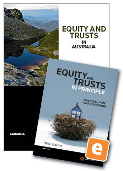 Student law books thomson reuters australia equity and trusts in australia 6th edition book equity and trusts in principle 3rd fandeluxe Image collections