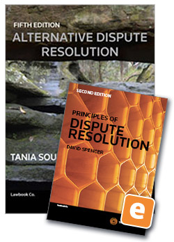 Student law books thomson reuters australia alternative dispute resolution 5th edition book principles of dispute resolution 2nd edition ebook value fandeluxe Choice Image