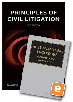 Student law books thomson reuters australia principles of civil litigation 3rd edition book australian civil procedure 11th edition ebook value fandeluxe Gallery