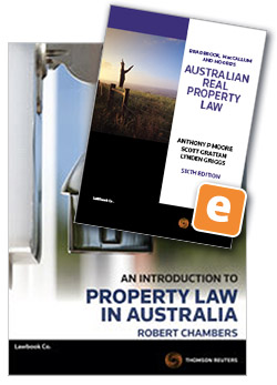 Real estate agency law in qld 5e thomson reuters australia an introduction to property law in australia 3rd edition fandeluxe Gallery
