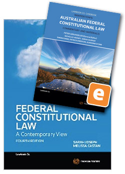 Federal constitutional law a contemporary view 4th edition book federal constitutional law a contemporary view 4th edition book wintertons australian federal constitutional law fandeluxe Image collections