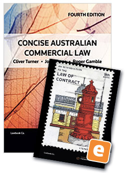 Concise australian commercial law 4th book introduction to the law concise australian commercial law 4th book introduction to the law of contract 9th ebook fandeluxe Gallery