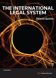 The International Legal System eBook
