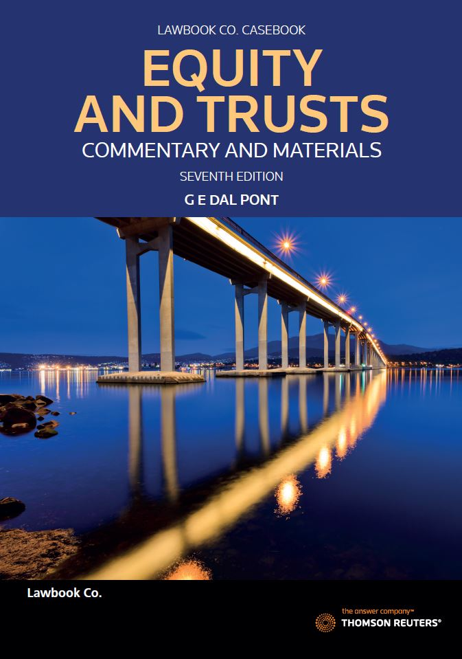Equity & Trusts: Commentary & Materials 7th edition
