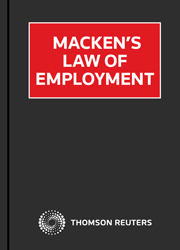 Macken's Law of Employment eSub