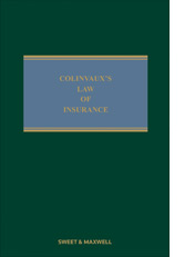 Colinvaux's Law of Insurance 11th edition 2nd supplement