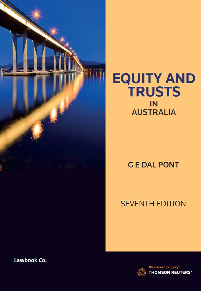 Equity and Trusts in Australia 7th edition Book + eBook