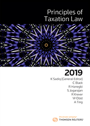 Principles of Taxation Law 2019 Book+eBook