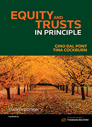 Equity and Trusts In Principle 4e Book+ eBook