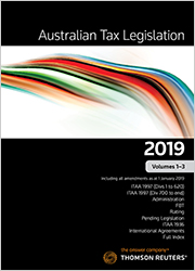 Australian Tax Legislation 2019 Volumes 1-3