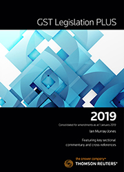 GST Legislation PLUS 2019 eBook