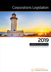 Corporations Legislation 2019 Book+eBook