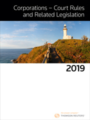 Corps Court Rules And Related Legislation 2019 eBook