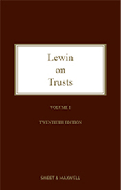 Lewin on Trusts 20e