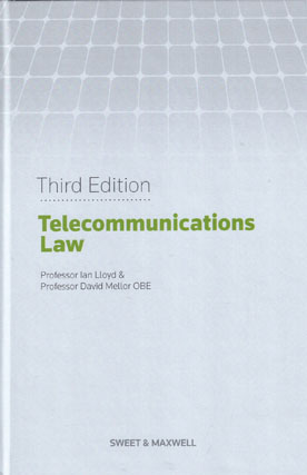 Telecommunications Law 3rd Edition