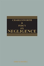 Charlesworth on Negligence 14th Edition Mainwork + Supplement