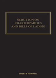 Scrutton on Charterparties and Bills of Lading 24th Edition