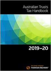 Australian Trusts Tax Handbook 2019-20 Book + eBook
