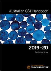 Australian GST Handbook 2019-20 Book+eBook