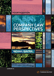 Company Law Perspectives 4e