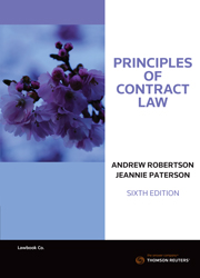Principles of Contract Law 6th edition