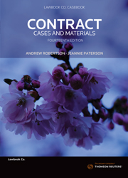 Contract: Cases & Materials 14th edition