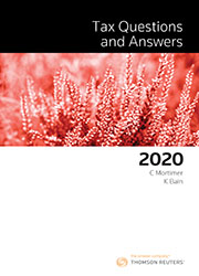 Tax Questions and Answers 2020