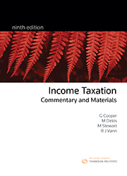 Income Taxation: Commentary & Materials 9e