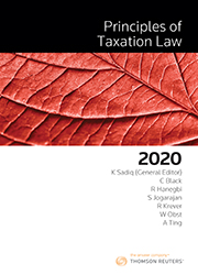 Principles of Taxation Law 2020 ebook