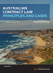 Australian Contract Law: Principles and Cases esub