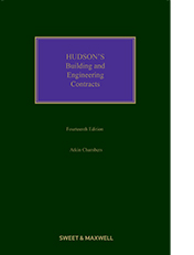 Hudson's Building and Engineering Contracts 14th edition