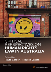 Critical Perspectives on Human Rights Law in Australia Vol 2 eBook