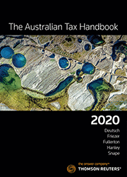 THE AUSTRALIAN TAX HANDBOOK 2020-BOOK+EBOOK