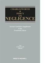 Charlesworth and Percy on Negligence 2nd Supplement