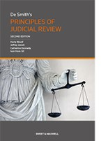 De Smith's Principles of Judicial Rev 2e