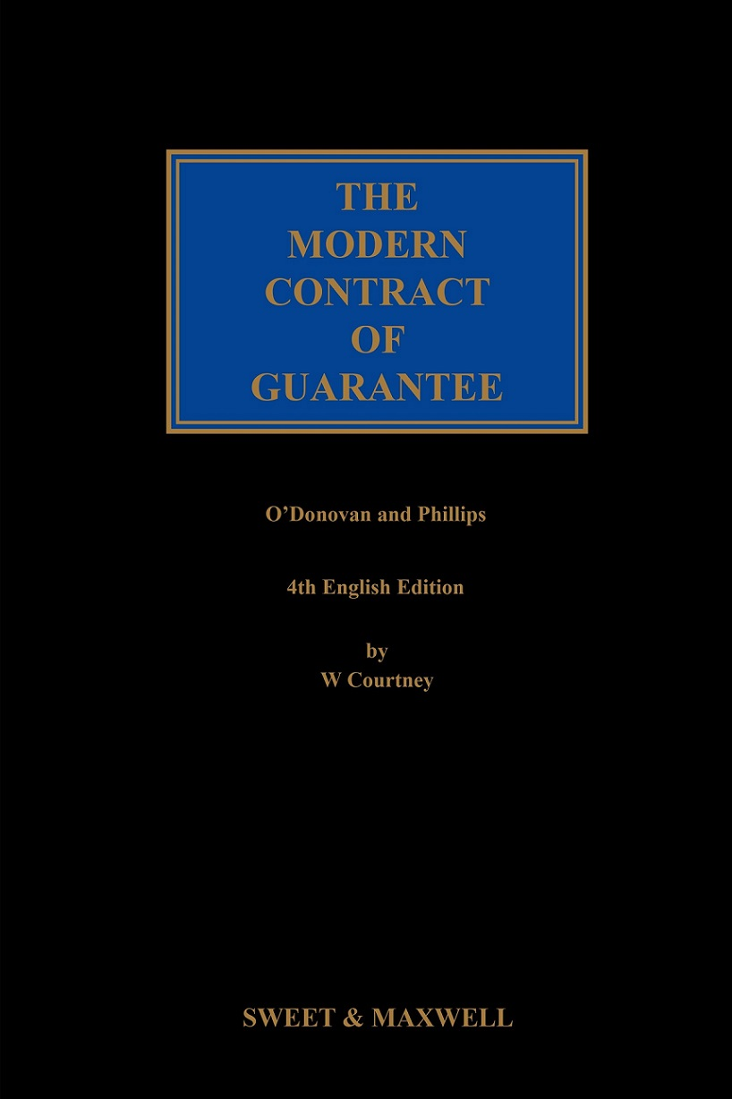 The Modern Contract of Guarantee 4th Edition