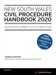 NSW Civil Procedure Handbook 2020