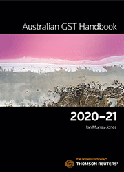 Australian GST Handbook 2020-21 Book + eBook