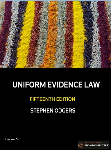 Uniform Evidence Law 15th Edition - Book & eBook