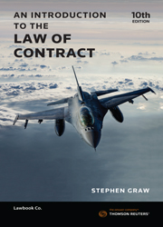 An Introduction to the Law of Contract 10th edition