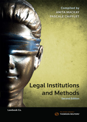 Legal Institutions and Methods 2nd Edition eBk