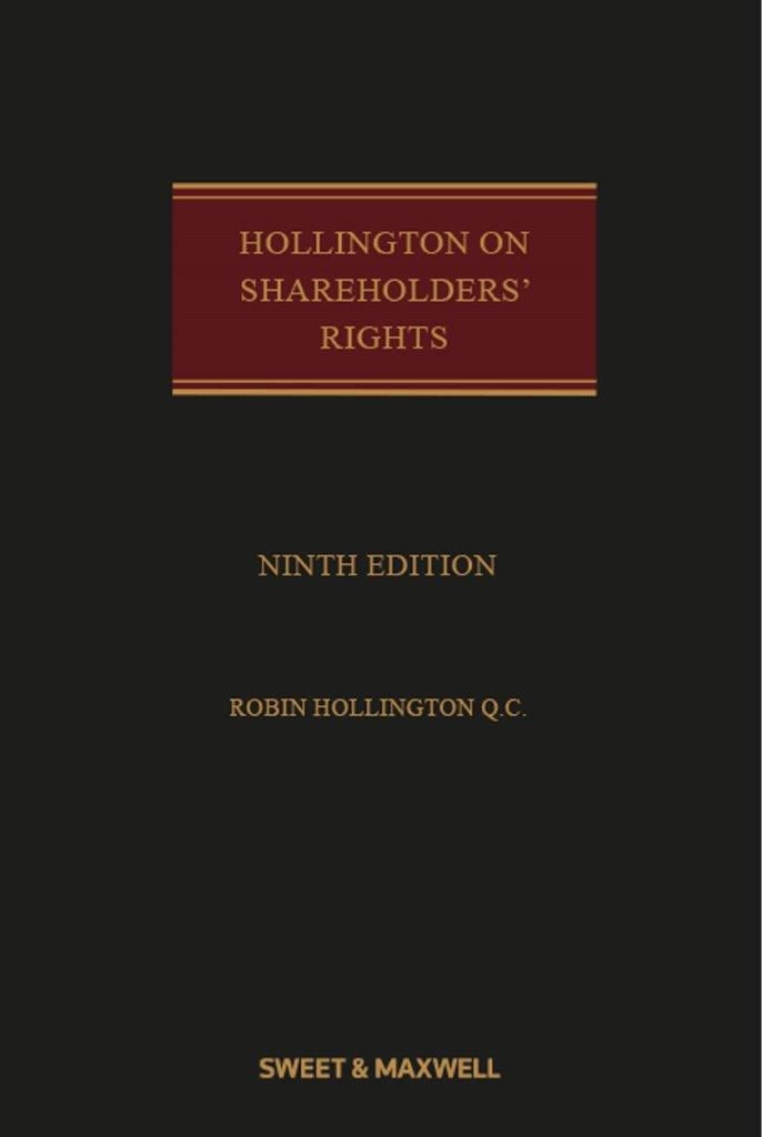 Hollington on Shareholders' Rights 9e