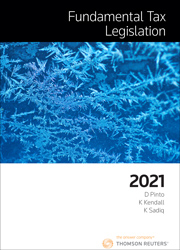 Fundamental Tax Legislation 2021 ebook