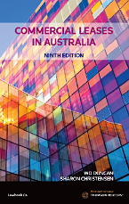 Commercial Leases in Australia 9th Edition - Book
